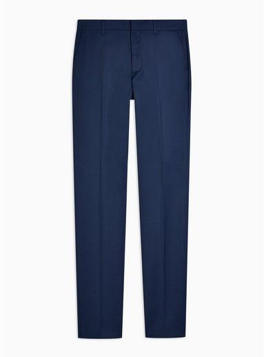 Big & Tall Anzughose in enger Passform, blau, BLAU