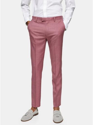 Eng geschnittene Anzughose, pink, PINK