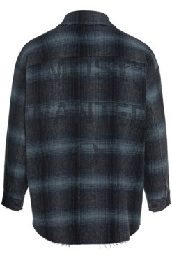 flannel most wanted checked blue