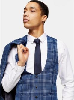krawatten im multipack navyblau und blau multi