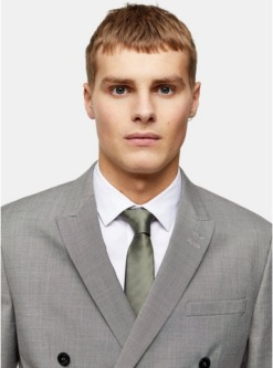 krawatten mit print und fischgraetmuster im multipack lila multi