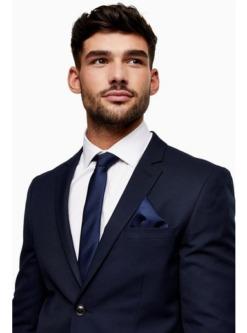 navy blaustrukturierte krawatte navyblau navy blau