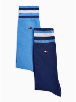 navy blautommy hilfiger struempfe aus pikee im doppelpack navyblau navy blau