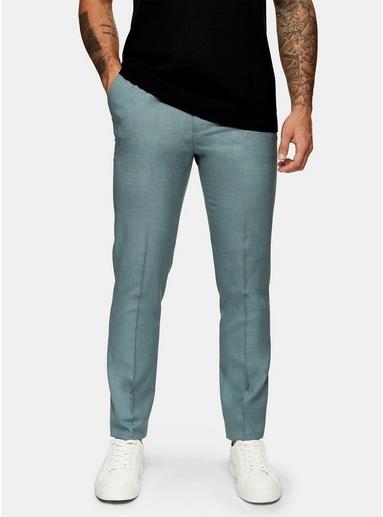 ROTBig & Tall Anzughose, salbeigrün, ROT