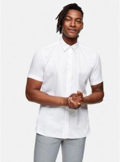 schmales premium hemd weiss weiss