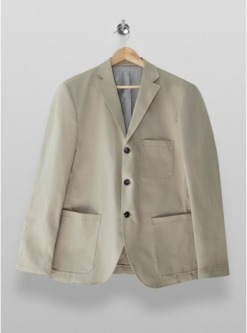 selected homme blazer creme creme