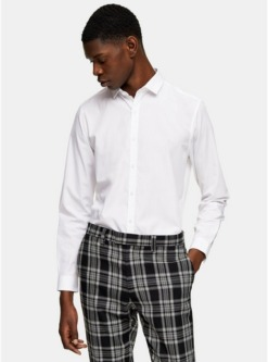 weisses anzughemd weiss